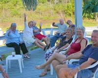 Marianne Gerry, Irene & Jim Nelson, Bob & Dottie Lindsey, Phylis Oakley, Madeline, Pat &Ed Lutes