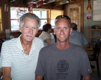 Dan Hutchinson and son