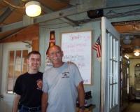 Gino and Bob Fiorello