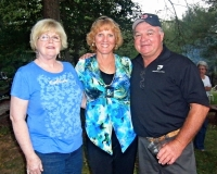 Patti Wood, Karen and Rick Hamilton
