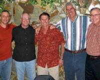 Rolando Coto, Frank Warren, Dan, Sonny George, Jay Eitneier