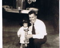 Perry Donaldson Wise and son Kenneth