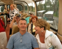 Rookie retirees Ed and Debbie Jarrell and veteran retireees Ralph and Laurie Hendricks.